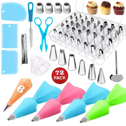72pcs/Set Cake Decorating Tools