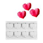 3D Heart Cake  Decorating Mold