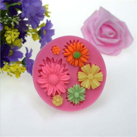 3D Flower Silicone Mold