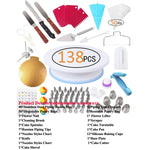 138pcs/Set Cake Decorating Tools