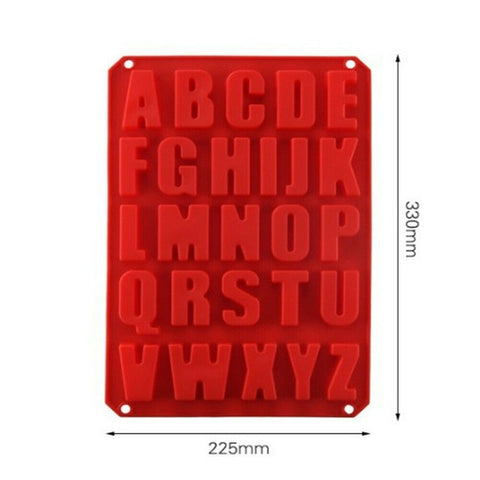 Large Alphabet Baking Mold
