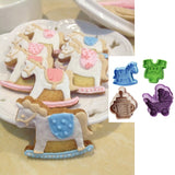 4pcs/Set Baby Shower Cookie Cutter