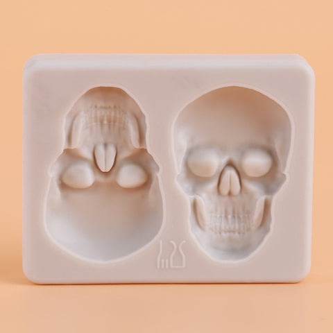 3D  Skul Baking Molds