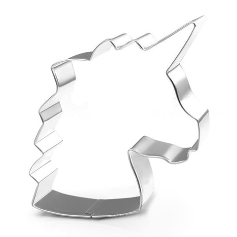 Unicorn Cookie Cutter Stainless Steel