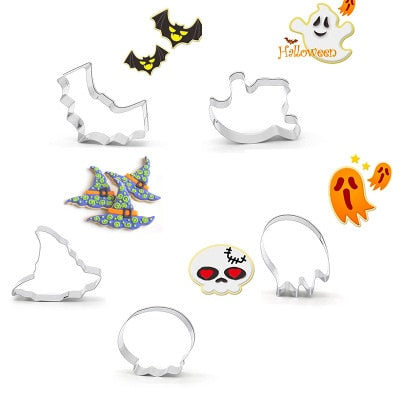 5 pcs/Set Halloween Cookie Cutters