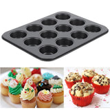 12 Cups  Cupcake Baking Non-stick