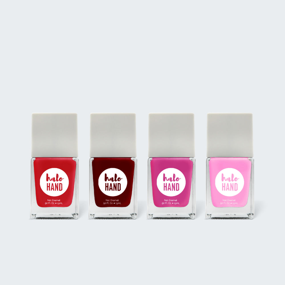 Classics Color Kit - Halo Hand nontoxic nail polish