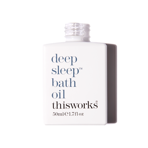 deep sleep bath oil