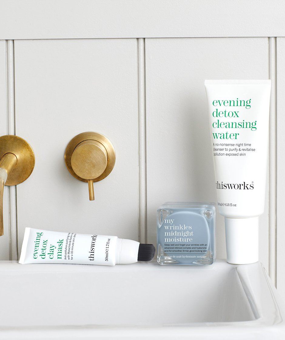 evening detox skin solutions kit