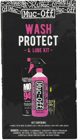 "Muc-Off ""Wash, Protect and Dry Lube"" Kit"