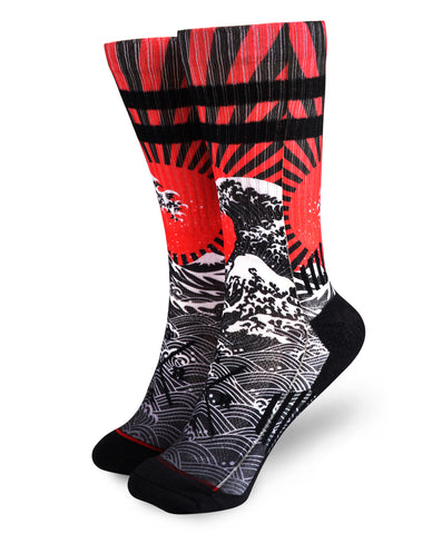 Loose Riders Socken - Rising Sun