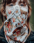 Loose Riders Maske / Bandana - FOREST ANIMALS