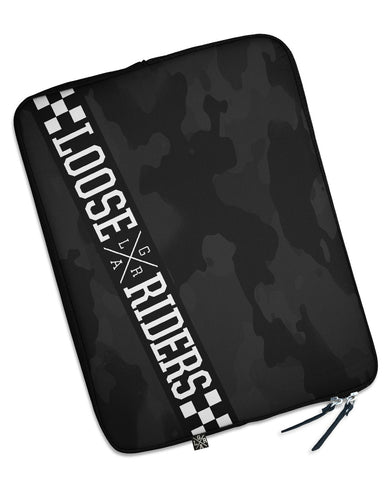 Loose Riders  Laptoptasche - CHARCOAL CAMO