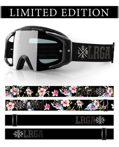 Loose Riders Limited Edition Goggle  - C/S LUAU BLACK