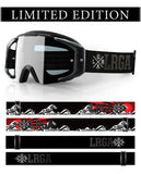 Loose Riders Limited Edition Goggle  - C/S RISING SUN