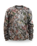 Loose Riders Fleece Pullover Men - FOLIAGE CAMO