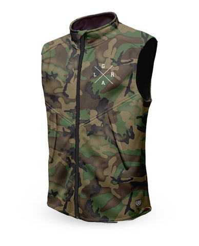 Loose Riders Weste Men - FOREST CAMO
