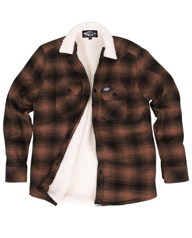 Loose Riders Men Flanelljacke - FLANNEL RUST