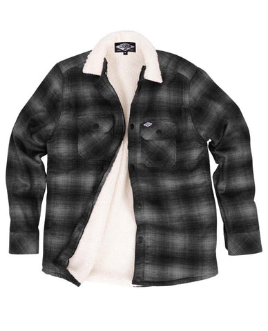 Loose Riders Men Flanelljacke - FLANNEL GREY