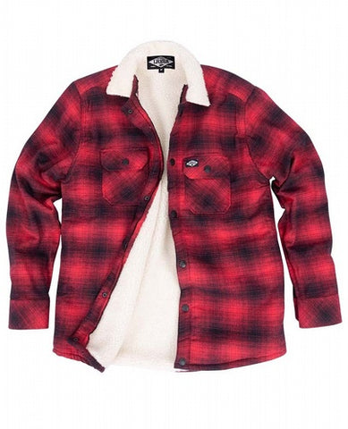 Loose Riders Men Flanelljacke - FLANNEL RED
