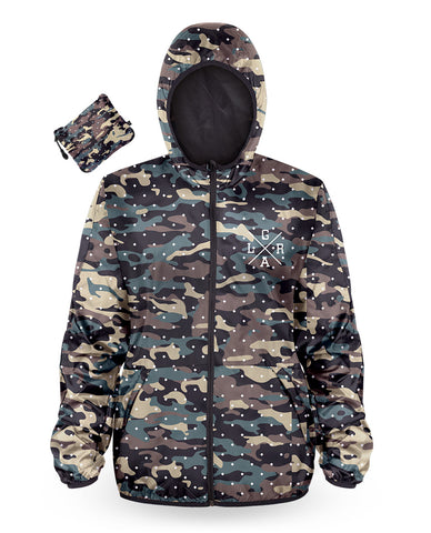 Loose Riders Windbreaker Ladies - CAMO DOTS