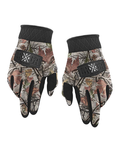 Loose Riders Gloves - Camo Foliage