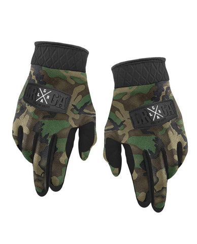 Loose Riders Gloves - Camo Forest