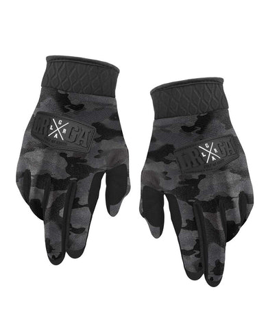 Loose Riders Gloves - Camo Charcoal