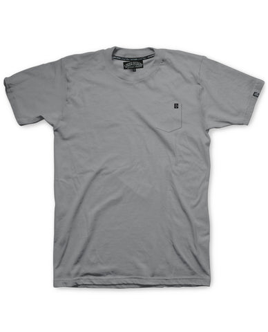 Loose Riders T-Shirt Men - Pocket Grey