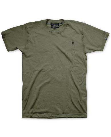 Loose Riders T-Shirt Men - Pocket Army