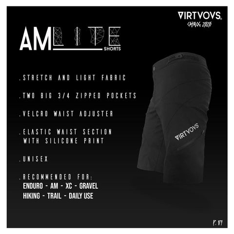 Short unisexe Virtuous - Short AM Lite