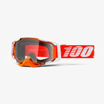 Goggle- Ride 100% ARMEGA® Regal Goggle Moto/MTB, Mirror Red & Clear Lens