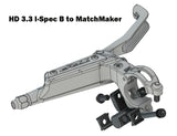 TRP MatchMaker HD3.3 Adapter zu SRAM Trigger links