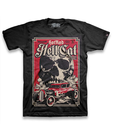 Hotrod Hellcat T-Shirt Men - True Nightmare