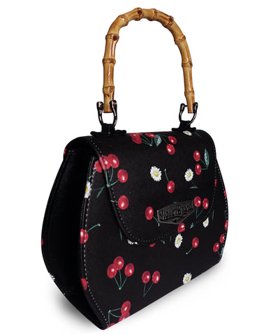 Liquor Brand Handtasche - DAISEY CHERRIES BLACK