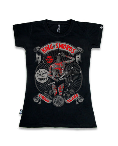 Liquor Brands Ladies Shirt - King of Swords
