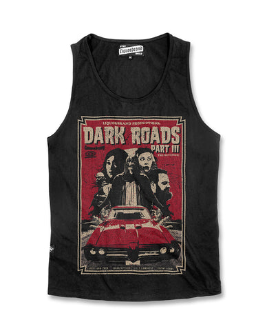 Liquor Brand Tank Top Men - Dark Roads
