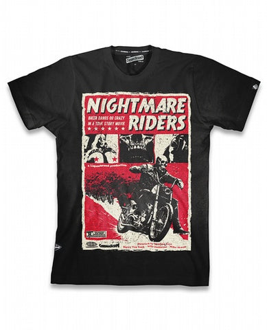 Liquor Brand T-Shirt Hommes - Nightmare Riders
