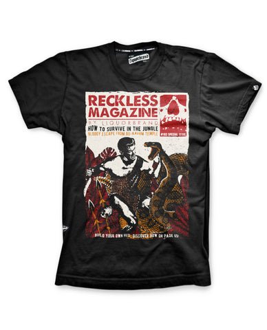 Liquor Brand T-Shirt Men - RECKLESS