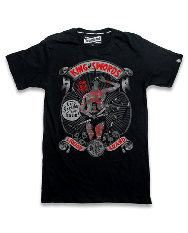 Liquor Brand T-Shirt Men - KING OF SWORDS