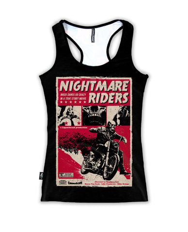 Liquor Brand Ladies Tank Top - Nightmare Riders