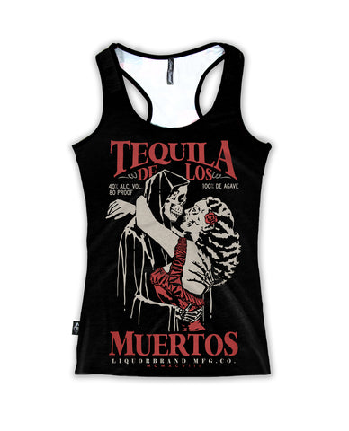 Liquor Brand Ladies Tank Top - Tequila