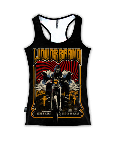 Liquor Brand Ladies Tank Top - Reaper