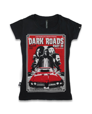 Liquor Brand Ladies Shirt - DARK ROADS
