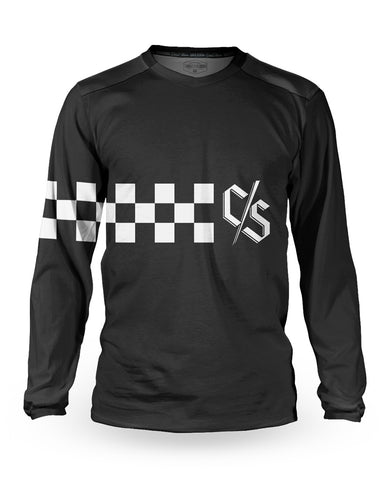 Loose Riders Jersey Langarm Men - Vink Race Black
