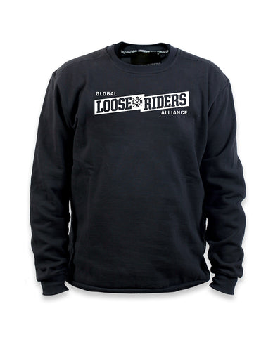 Loose Riders Sweatshirt Men - Banner