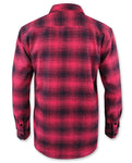Loose Riders Men Flanellhemd - RED FLANNEL