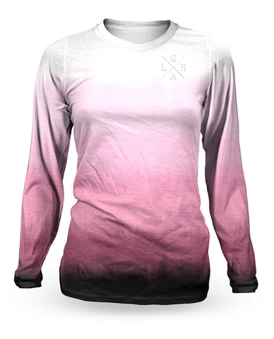 Loose Riders Ladies Langarm Jersey - Fade Warm