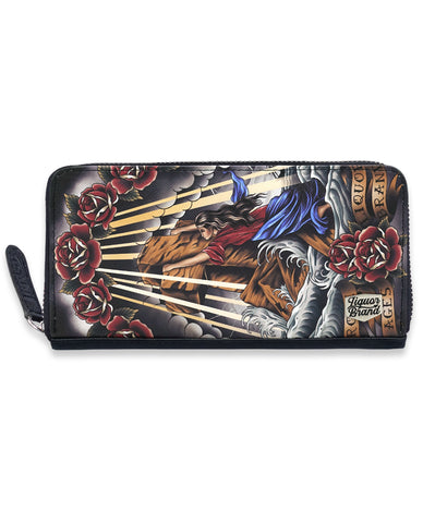 Liquor Brand Wallet - ROCK OF AGES