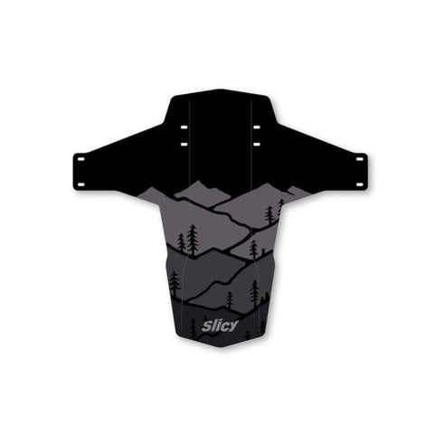 Slicy Mudguard - EN-DH BLACK FORREST